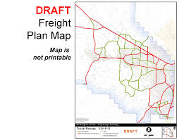 Truck Route Maps Plan Maps