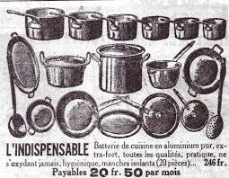 affiche cuisine affiche batterie cuisine 1900 allégorie de la grenouille