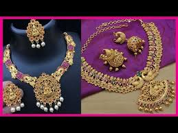 one gram gold jewellery set designs one gram gold