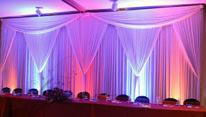 pipe and drape pipe and drape portland wedding lights