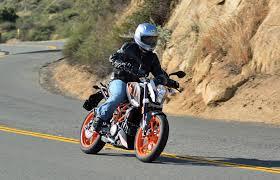 street legal motocross bikes md tests crazy light street legal singles part 2 ktm 390 duke