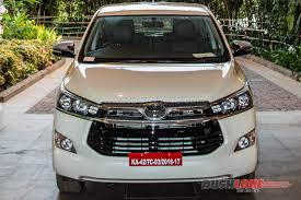 toyota car price 2016 toyota innova crysta launch price specs photos videos
