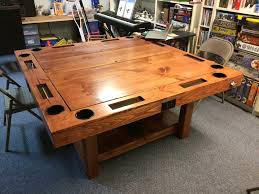 DIY Gaming Table For  YouTube - Board game table design