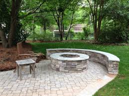 outdoor stone firepits charlotte nc masters stone group