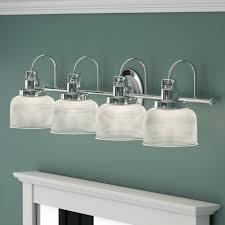 coastal bathroom vanity lighting you u0027ll love wayfair