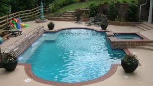 Concrete Pool Designs Ideas Travertine Stamped Concrete With Brick Edge Pool Google Search