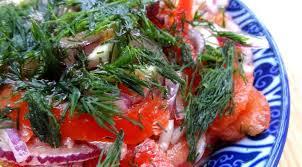 cuisine ouzbek salade de boukhara achichuk ouzbékistan la tendresse en cuisine