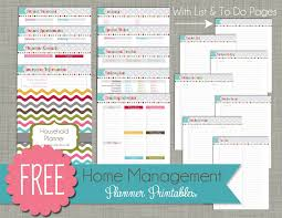 6 best images of home planner free printables free printable
