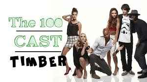 The Social Cast The 100 Cast Timber Humor Youtube