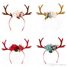 christmas hair accessories baby christmas hair bands 2017 fashion boutique reindeer