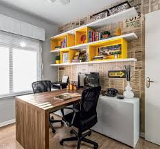 Home Office Designs by Home Office Para Dois Em 9 M Ems Workspaces And Interiors