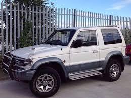 mitsubishi pajero 2 8 td swb 3 doors auto 4x4 white in keighley
