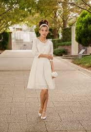 Informal Wedding Dresses Cotton Lace Casual Dress M Or Made To Order Long Sleeves