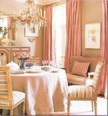 Pale Pink Curtains Decor Pink Dining Room A Little Bit Of This Drapes A Bit More Mellow