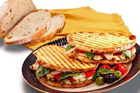 élégante Bague de Fian§ailles  gourmet panini