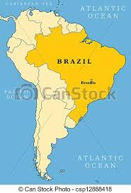 city map of brazil brazil locator map country and capital city brasilia map
