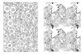 amazon com posh coloring book japanese designs for fun