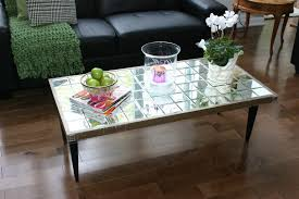 mirrored coffee table design images photos pictures glass tables