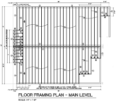 roof framing plan samples single family construction house floor