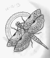 moth wings dragonfly beetle tattoo design butterflies moths