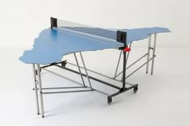 how much does a ping pong table cost ping pong table shaped like easter island neatorama