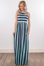 light blue and white striped maxi dress online clothing boutiques shop trendy clothes at filly flair