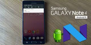 Install Android Nougat On Galaxy Note 8 0 Android 7 0 Nougat For Samsung Galaxy Note 4 Techgipsy