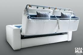canapé lit matelas épais canape convertible matelas epais rapido en cuir blanc pas cher