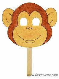 Monkey Paper Plate Craft - preschool monkey craft preschool crafts