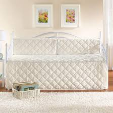Daybed Cover Sets White Eyelet Daybed Set White Metal Daybed With Trundle