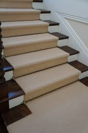 Rug Runner For Stairs Herringbone Wool Stair Runner Stair Rods Newport Beach And