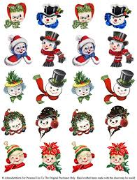 318 best christmas cards santas and snowmen images on pinterest
