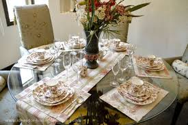 Fall Dining Room Table Decorating Ideas Dining Room Space Room Oration Fall For Home Centerpieces