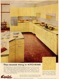 Kitchens With Yellow Cabinets Steel Kitchen Cabinets History Design And Faq Retro Renovation