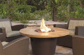 american fyre french barrel oak round fire table