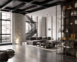 3 Stylish Industrial Inspired Loft Imagine This You Live In A Spacious Loft Atop A Metropolis You