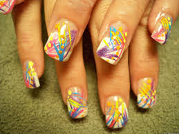 images of line design nail art asatan easy line nail