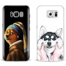 Galaxy Phone Meme - doge meme kabosu cute mobile phone case shell cover bag for samsung