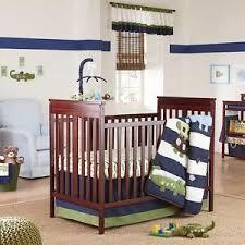 Nojo Crib Bedding Set Nojo Alligator Blues 4 Crib Bedding Set Pond Turtle