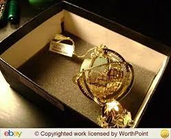 baldwin brass ornament millenium globe