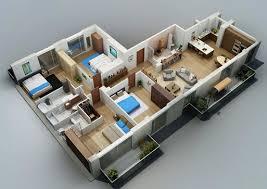 one house floor plans 17 three bedroom house floor plans plan houses type 45 one floor 3