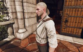 real shaved sides hairstyle at the witcher 3 nexus mods and