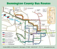 Green Line Map Boston by Green Mountain Community Network Inc Green Mountain Express