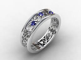 Blue Wedding Rings by Best 25 Blue Wedding Rings Ideas On Pinterest Groom Wedding