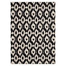 Modern Black And White Rugs Brilliant Area Rugs Black And White Ideas For Regarding Rug Design