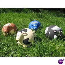 herd of 4 cows garden ornaments heavy on ebid