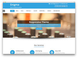 best free theme 30 free responsive business themes 2018 colorlib