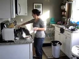cleaning kitchen a clean kitchen in 4 minutes youtube
