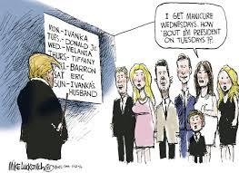 The Trump Family by Cartoon The Trump Family Calendar Editorial Cartoons