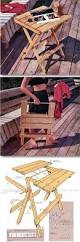 Plans For Making A Garden Table by Best 20 Outdoor Table Plans Ideas On Pinterest U2014no Signup Required
